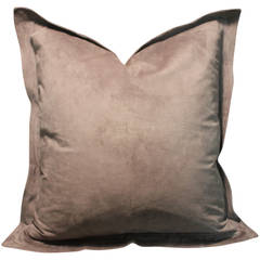 Smoke Suede Pillow