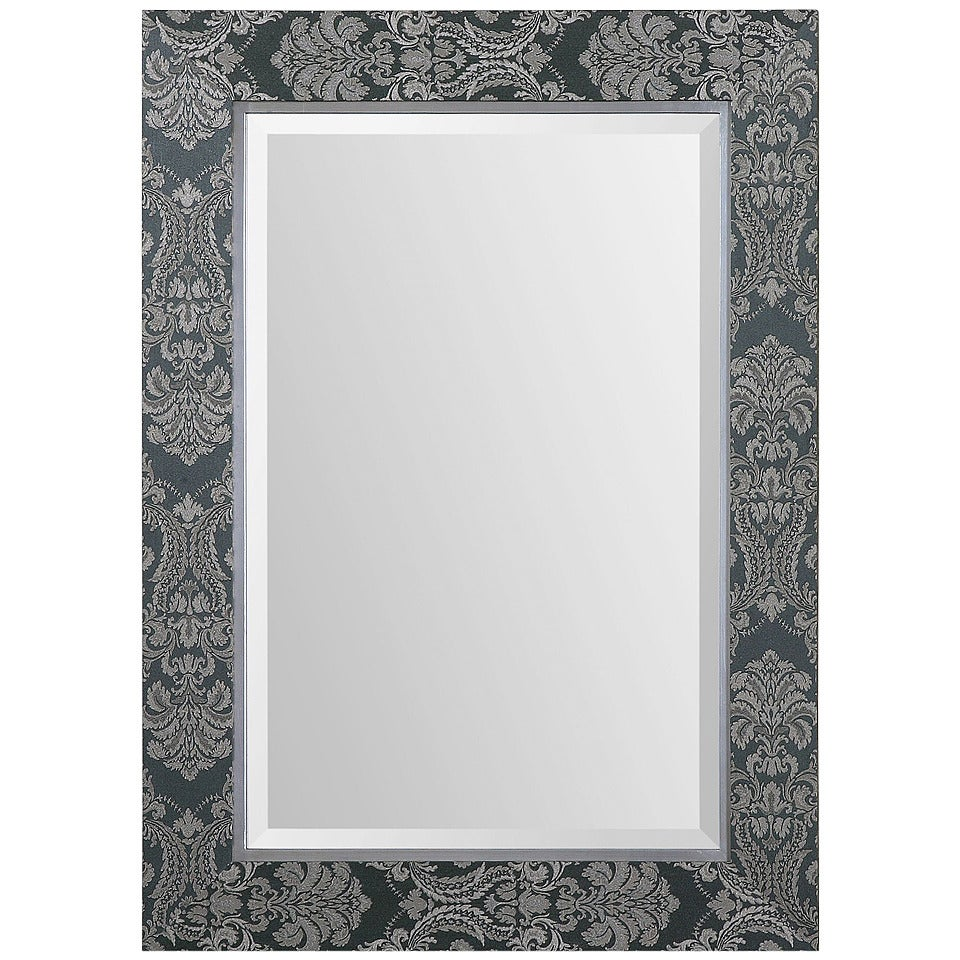 Sage Linen Framed Mirror