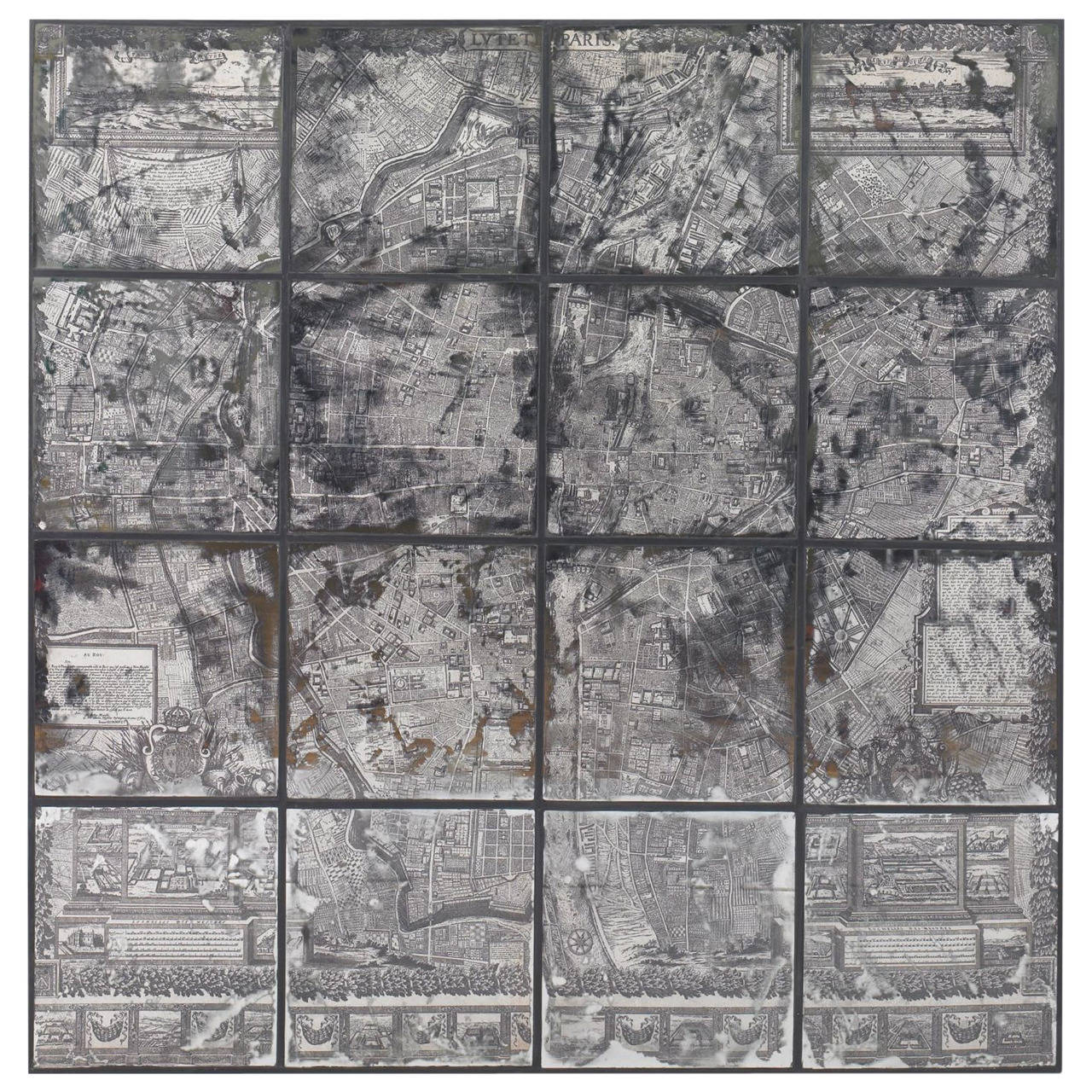 Beautiful Map of Paris