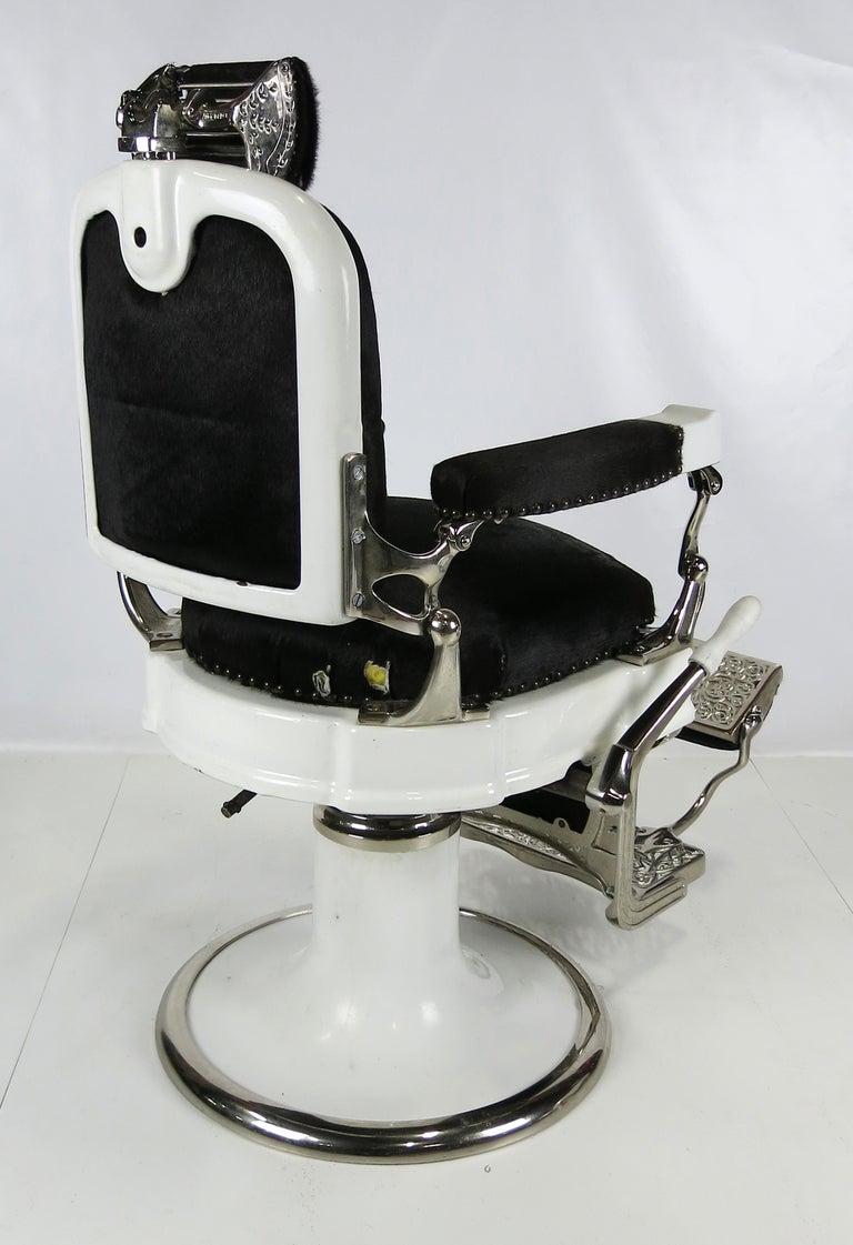 Extraordinary barber 39 s chair by ernest koken at 1stdibs - Deco klassiek koken ...