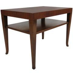Pair of Walnut Side Table by T.H. Robsjohn-Gibbings