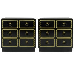 Pair of Espana Chests by Dorothy Draper