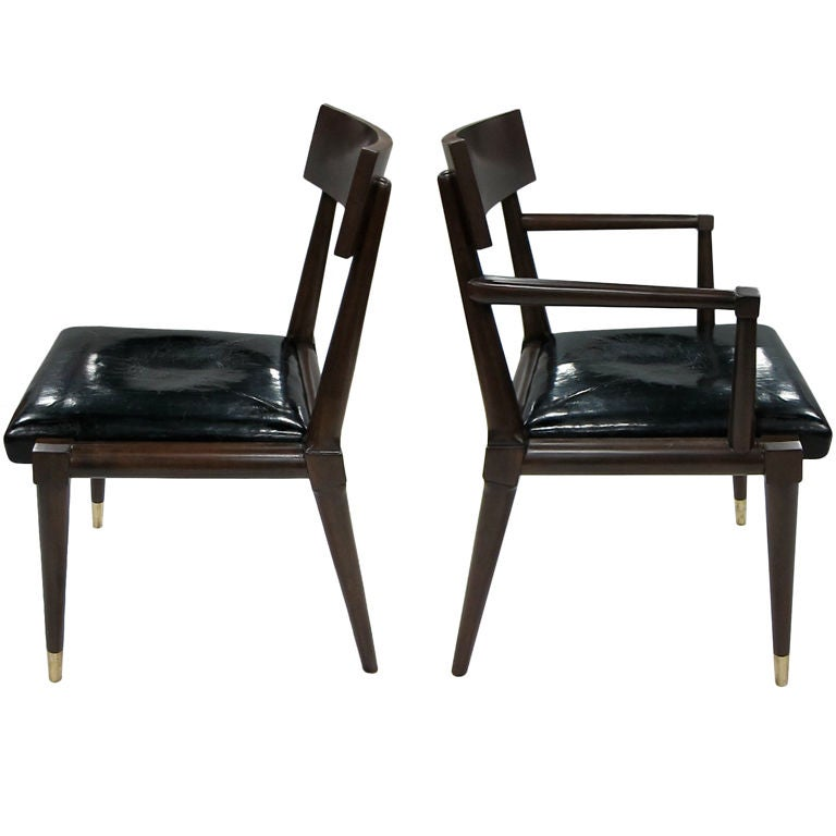 Set of six neoclassical modern chairs for sale at 1stdibs for Contemporary chairs for sale