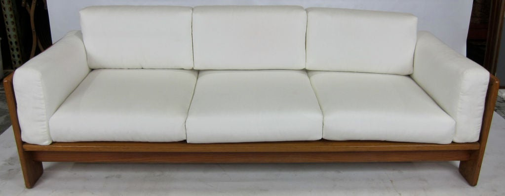 rosewood bastiano sofa by tobia scarpa at 1stdibs. Black Bedroom Furniture Sets. Home Design Ideas