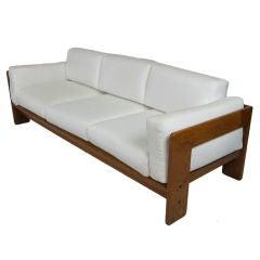 Rosewood Bastiano Sofa by Tobia Scarpa