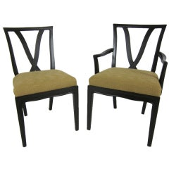 Set of 8 Sophisticate Collection Dining Chairs by Tomlinson