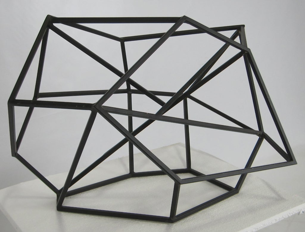 Abstract Geometric Sculpture at 1stdibs