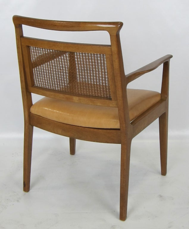 Set Of Six Dining Chairs By John Stuart At 1stdibs