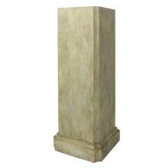Architectural Painted Wooden Column Pedestal