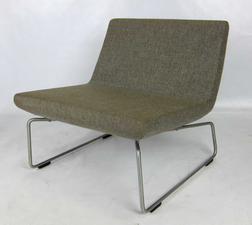 pair of lounge chairs by jasper morrison for cappellini at 1stdibs. Black Bedroom Furniture Sets. Home Design Ideas