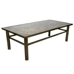 "Philip and Kelvin Laverne ""Classical"" Bronze Coffee Table"