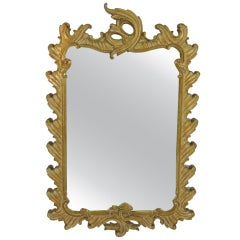 Fanciful French Rococo Mirror