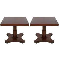 Pair of Palladian Collection Side Tables by Baker