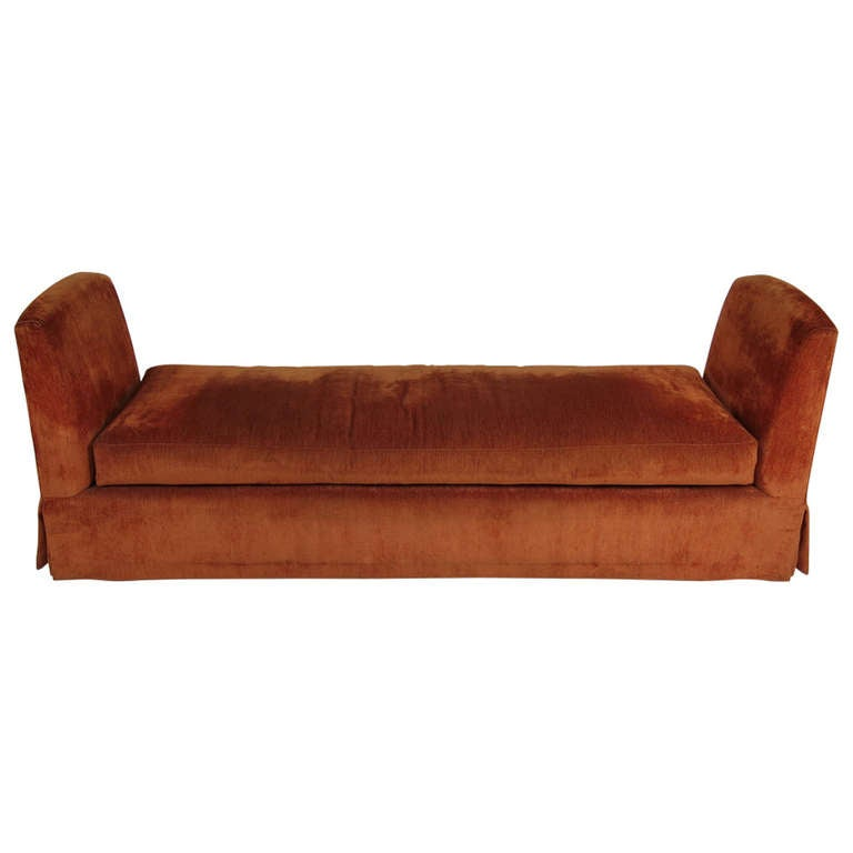 grand scale custom backless sofa daybed at 1stdibs