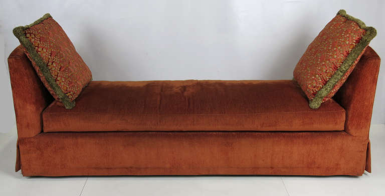 Modern Grand Scale Custom Backless Sofa/Daybed For Sale