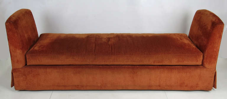 Grand Scale Custom 7 Bench Or Backless Sofa With Down Cushions This Piece Features