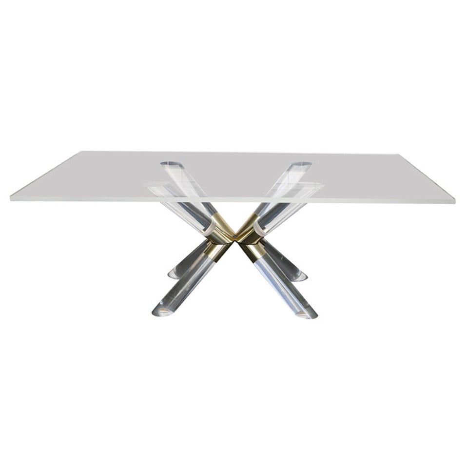 Pole And Truss Dining Table By Charles Hollis Jones For Sale At 1
