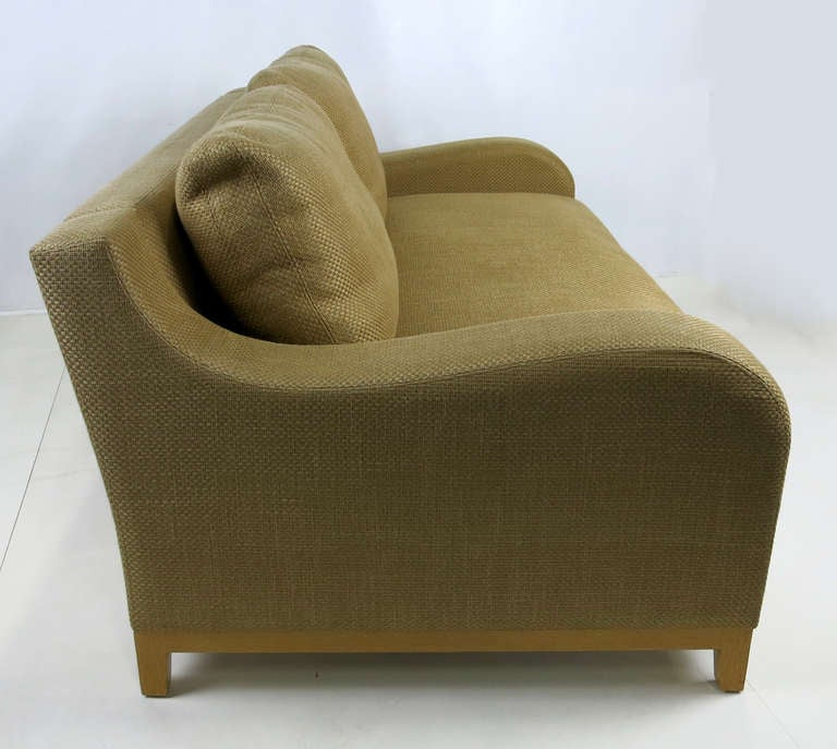 Nabab Sofa by Christian Liaigre In Excellent Condition For Sale In San Leandro, CA