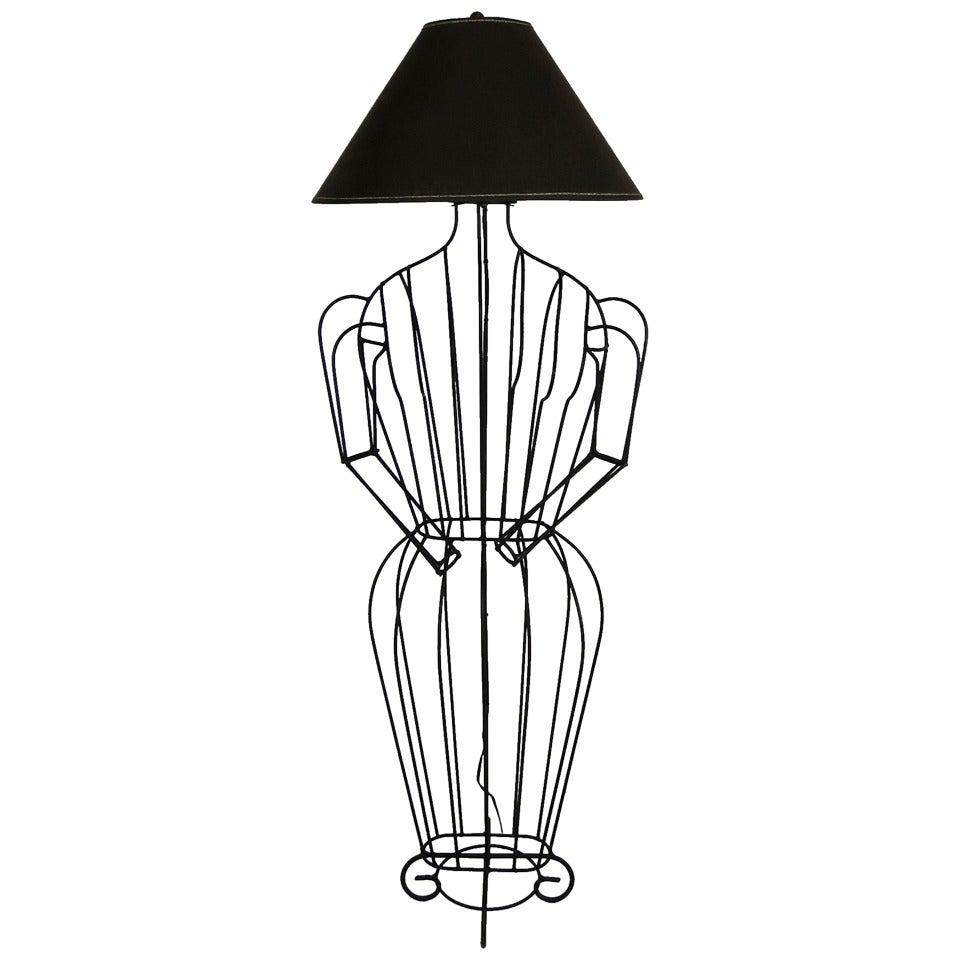 Sculptural Floor Lamp by John Risley