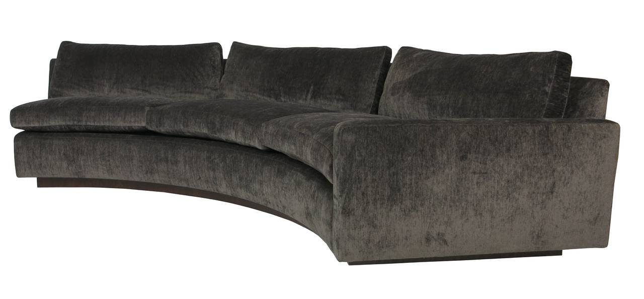 Half Circle CouchSofa Half Circle Couch Semi Circle Couch Small Curved  Sectional
