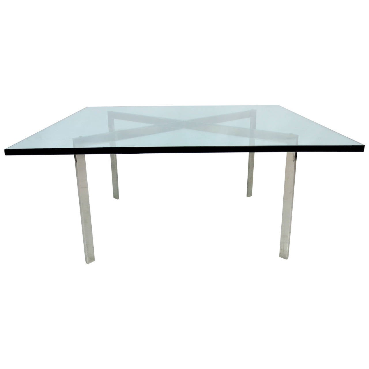 Early barcelona coffee table by mies van der rohe for knoll for sale at 1stdibs - Barcelona table knoll ...