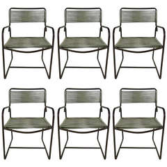 Set of Six Walter Lamb Armchairs