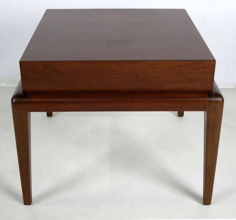 American Pair of Mahogany Side Tables by Seth Ben-Ari For Sale