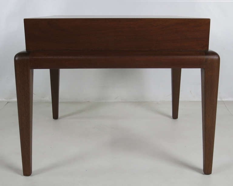 Mid-20th Century Pair of Mahogany Side Tables by Seth Ben-Ari For Sale