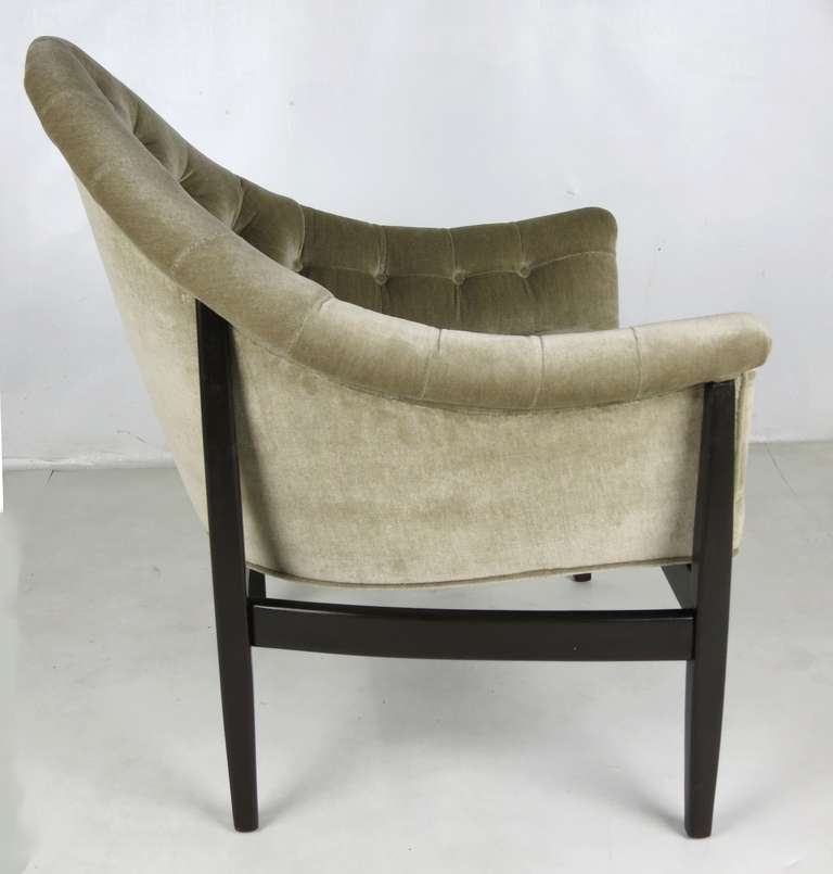 Mid-20th Century Rare Exposed Frame Lounge Chair by Milo Baughman for Thayer Coggin For Sale