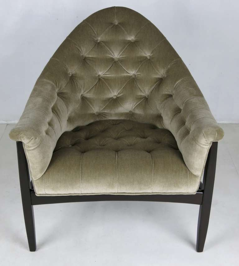 Modern Rare Exposed Frame Lounge Chair by Milo Baughman for Thayer Coggin For Sale