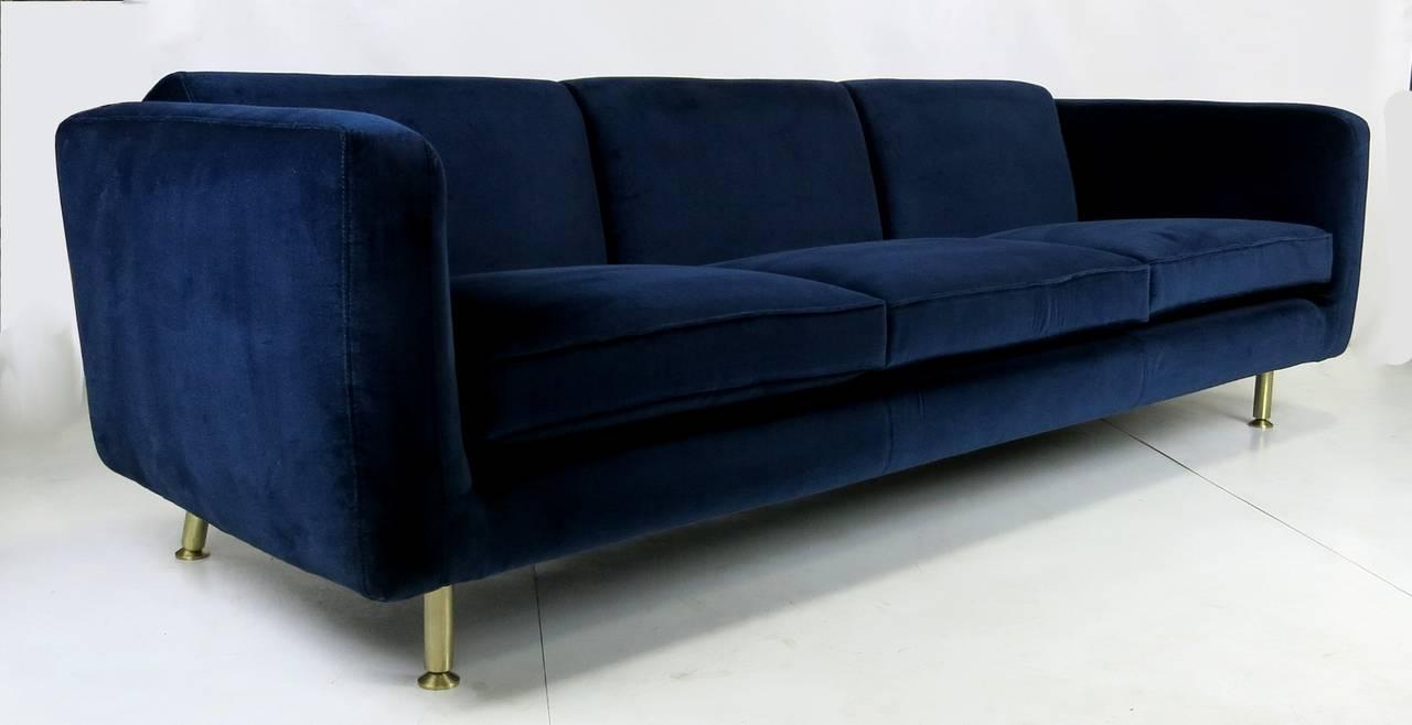 Sleek Three Seat Sofa By Rodolfo Dordoni For Minotti At