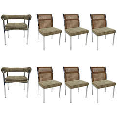 Set of Eight Dining Chairs by Howell