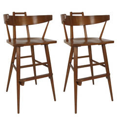 Pair of Modernist Bar Stools