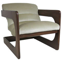 Lou Hodges Cantilevered Lounge Chair