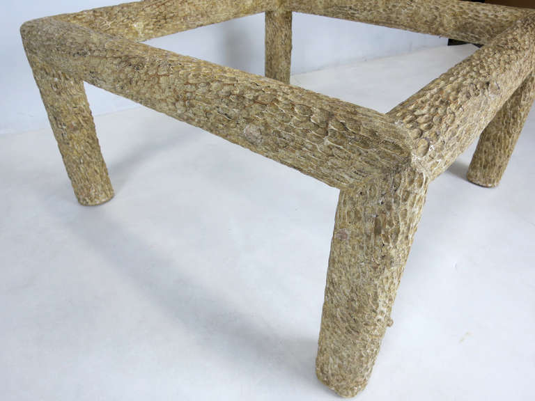 Faux Bois Coffee Table For Sale At 1stdibs