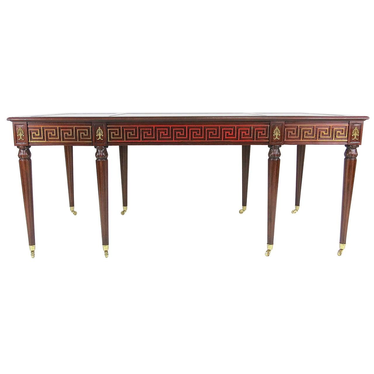 Regency Style Partners Desk by Mario Buatta