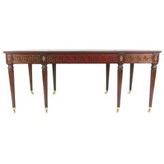 Regency Style Partners Desk by Mario Buatta