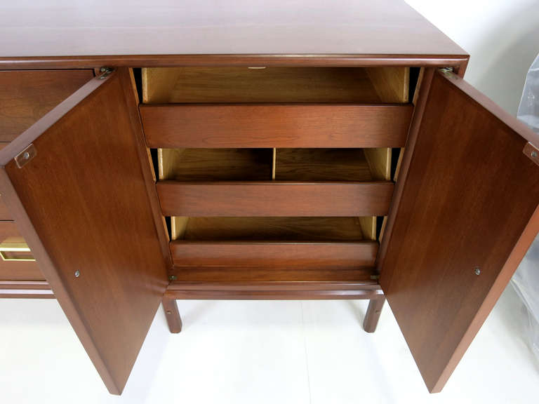 "Rare ""Sun Coast"" Walnut Dresser by Kipp Stewart for Drexel 4"