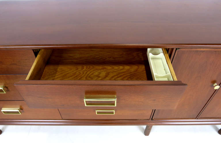 "Rare ""Sun Coast"" Walnut Dresser by Kipp Stewart for Drexel 5"