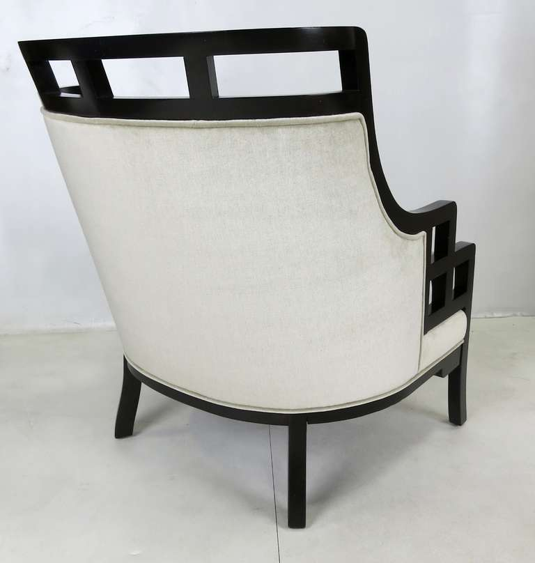 Wallis Simpson Lounge Chair And Ottoman By Jay Spectre