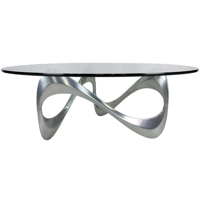 Infinity Coffee Table By Knut Hesterberg At 1stdibs