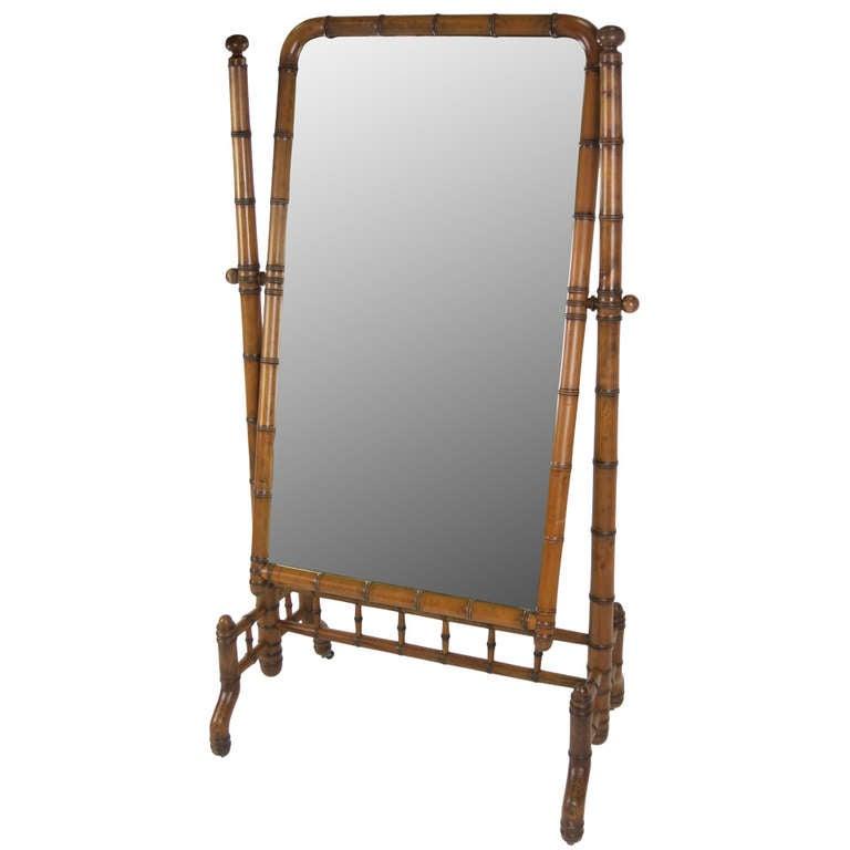 Victorian Cheval Mirror 1