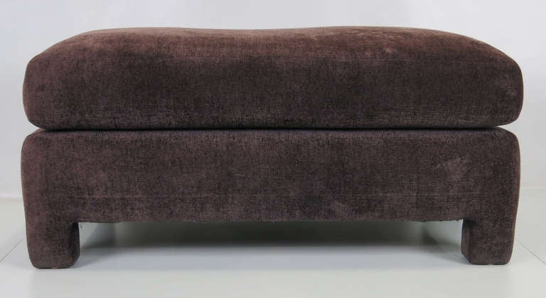 Large 1970 S Ottoman With Attached Cushion For Sale At 1stdibs