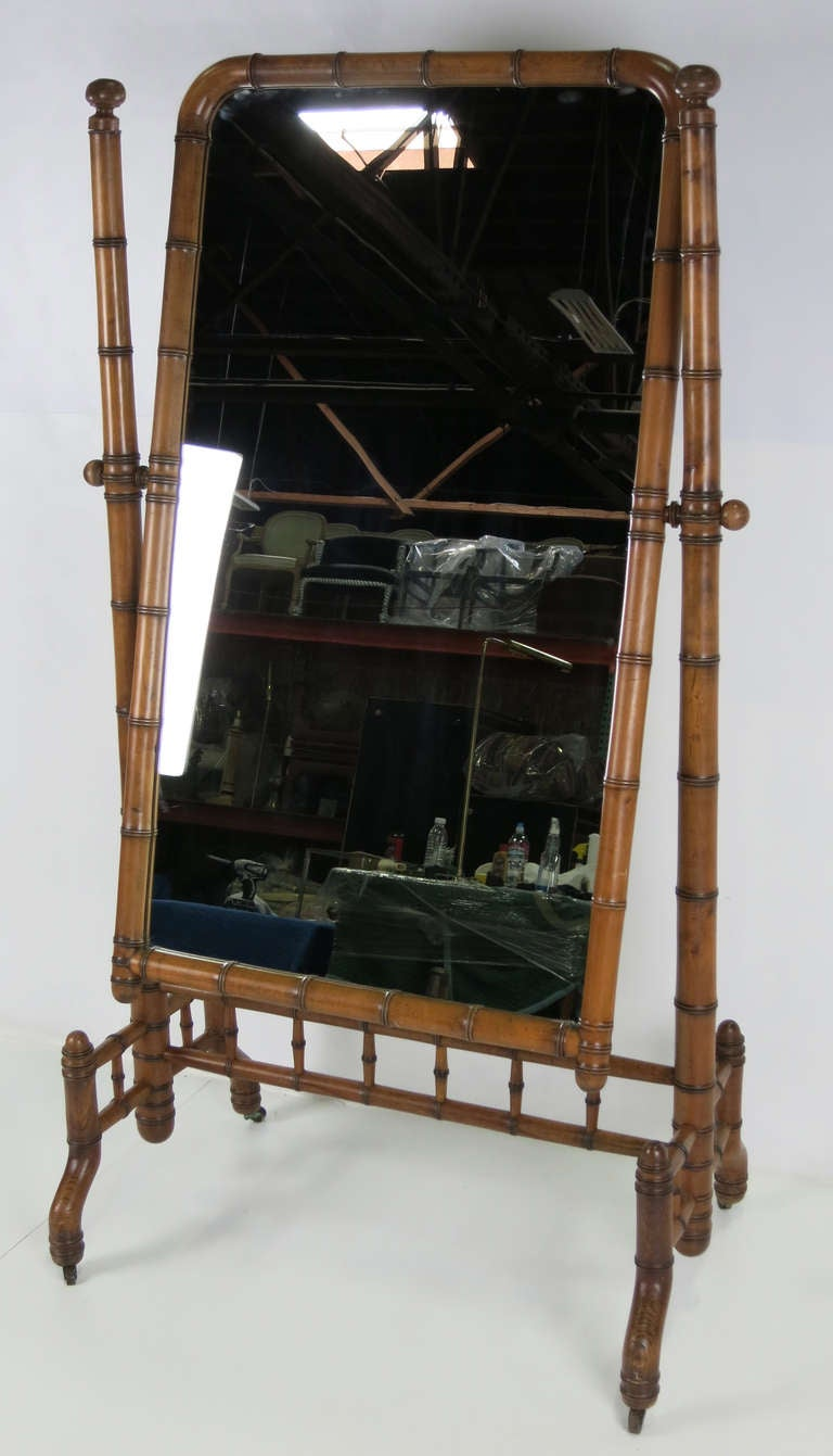 Victorian cheval mirror for sale at 1stdibs for Floor length mirror for sale