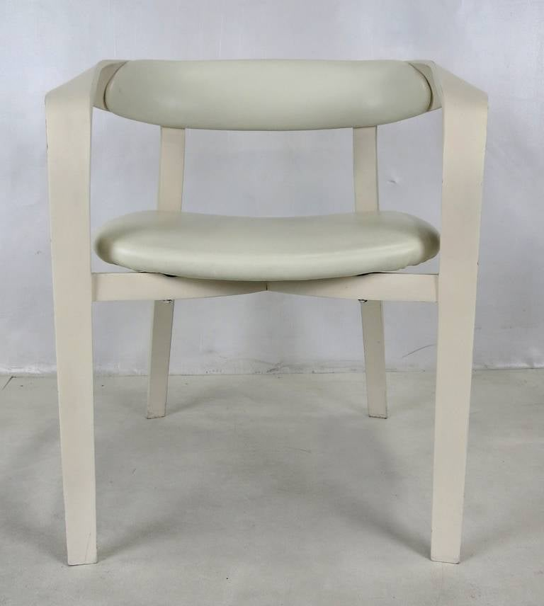Rare Pair Of 1980s Plycraft Ribbon Chairs For Sale At 1stdibs