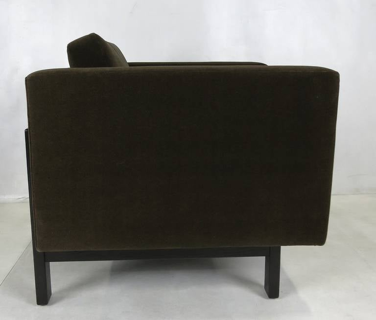 Modern Pair of Harvey Probber Open-Frame Lounge Chairs For Sale