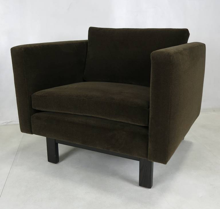 Mid-20th Century Pair of Harvey Probber Open-Frame Lounge Chairs For Sale