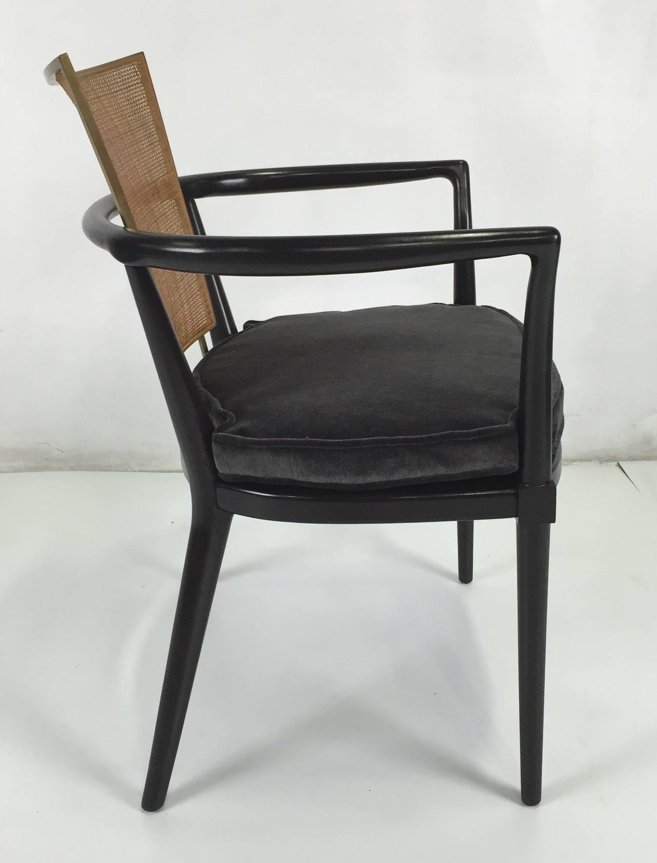 Set of Six Dining Chairs by Bert England for Johnson ...