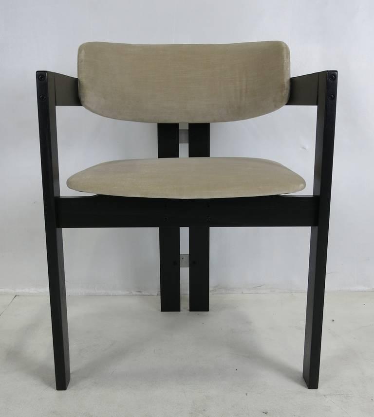 six italian modern dining chairs at 1stdibs