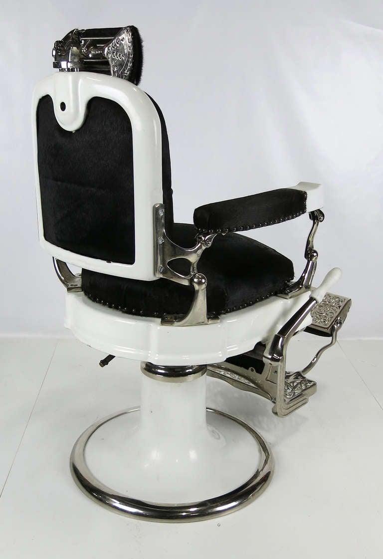 koken seat restored barber chair brightonandhove round l